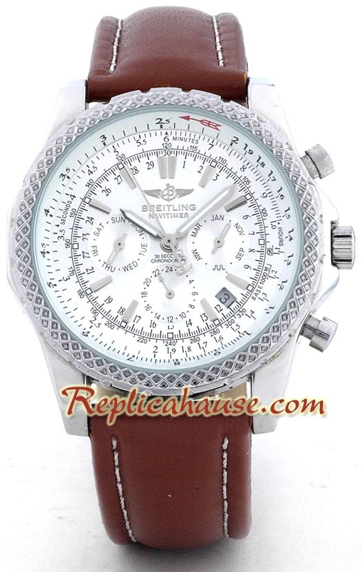 Breitling for Bentley Reloj Réplica   Leather RHSP556 para $199