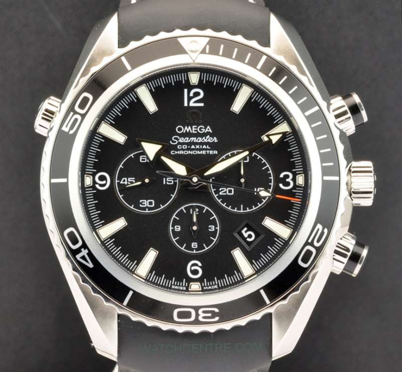 Omega Co Axial Chronometer Seamaster Chronograph 29105081   Watchcentre