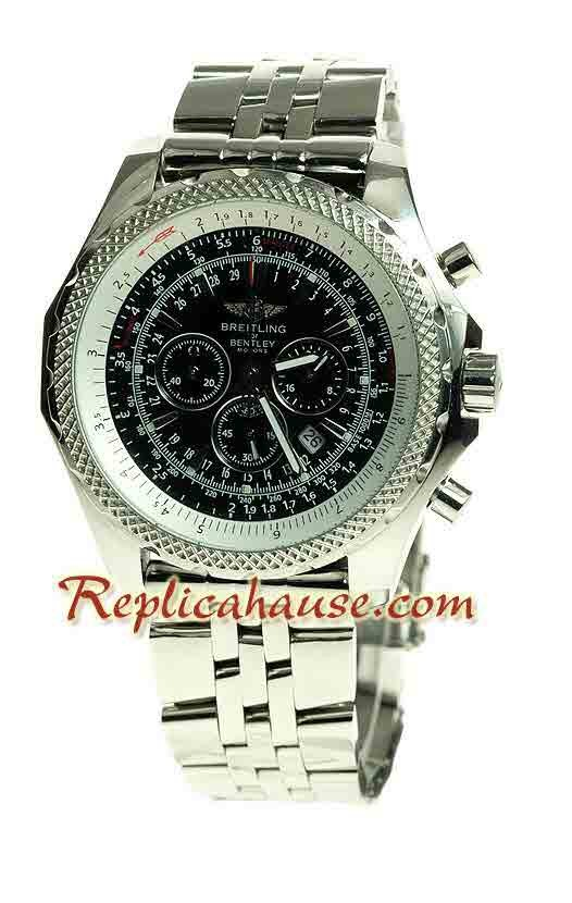 Breitling for Bentley Motors Reloj Réplica   Tamaño Medio RHSP327