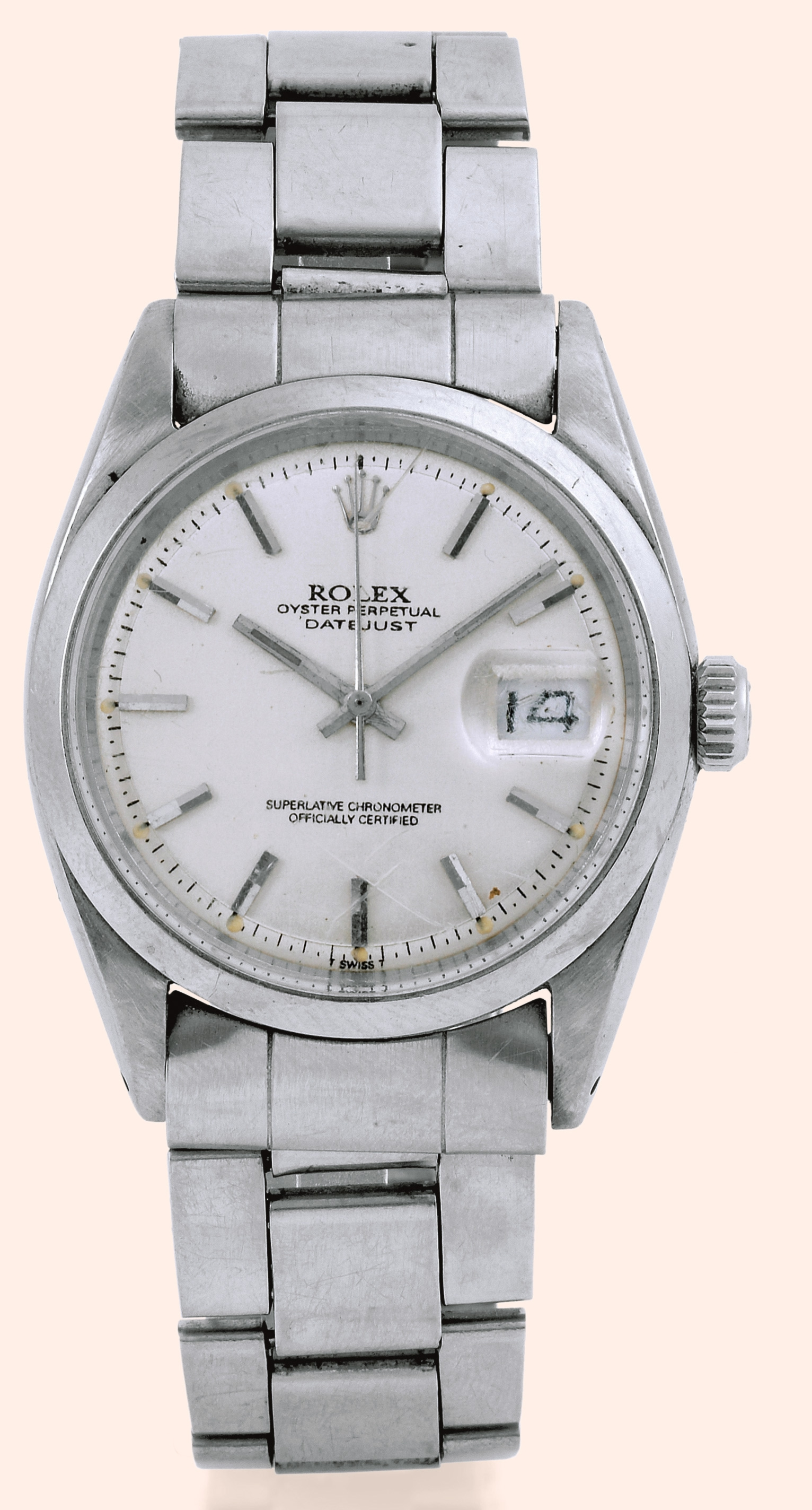 "Rolex, ""Oyster Perpetual Datejust, Superlative Chronometer Officially"