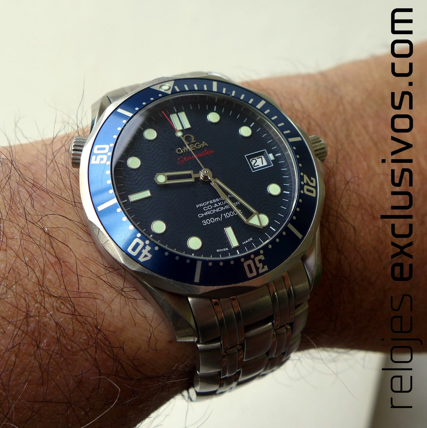 Omega Seamaster 300 m Coaxial 22208000 Relojes Exclusivos